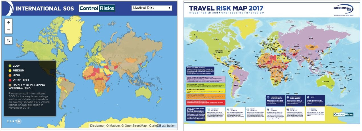 Global health & travel security risks review